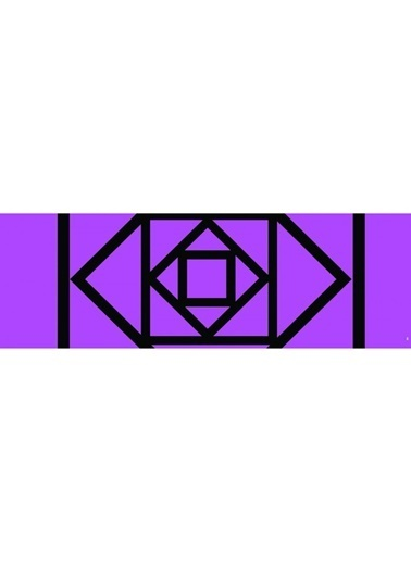 Artikel Geometirk Çizgiler-3 Runner Masa Örtüsü 43,5x141,5cm Renkli